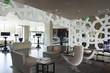 modern hotel lobby interior