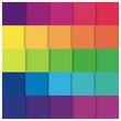 Rainbow Square Vector Illustration Background Abstract