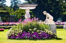 Nymph Sculpture In The Catherine Park, Tsarskoe Selo (Pushkin), Russia.