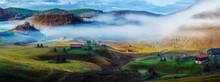 Rural Mountain Landscape In Au...