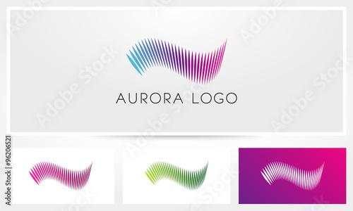 Aurora Logo Wallpaper Mural
