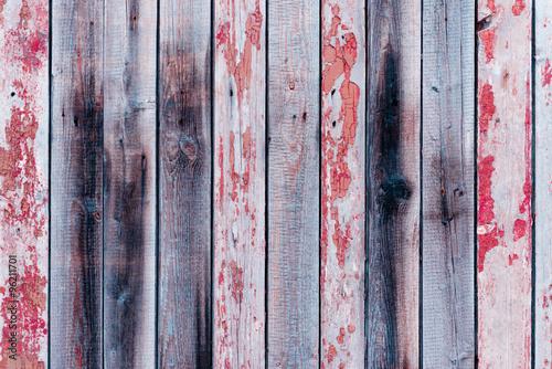 Foto-Plissee - Wooden texture with scratches and cracks (von chernikovatv)