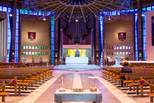 Liverpool Metropolitan Cathedral Inside A