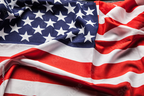 Poster Countryside Flag of USA