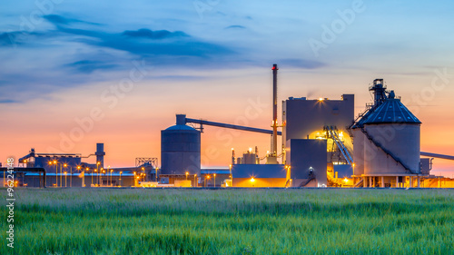 Fotografie, Obraz  Fantasy Industrial Chemical factory detail