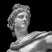 Apollo Belvedere Statue Detail