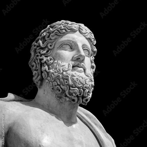 Photo The ancient marble portrait bust