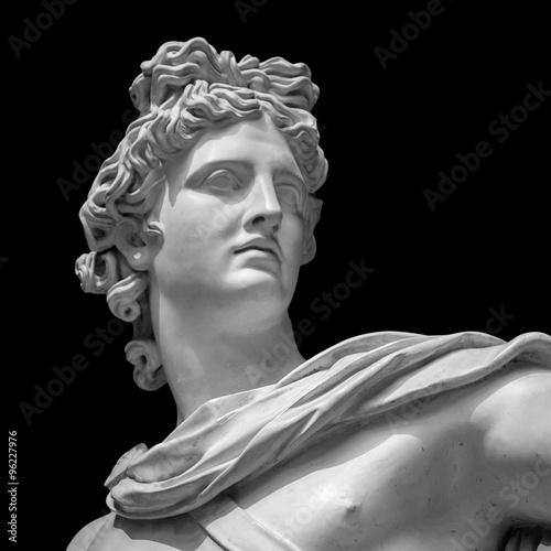 Foto  Apollo Belvedere Statue Details
