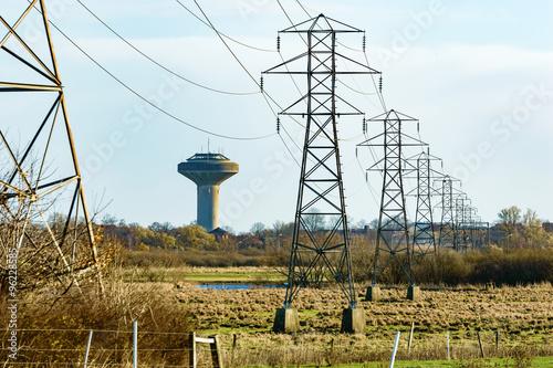 Fotografía  Power lines