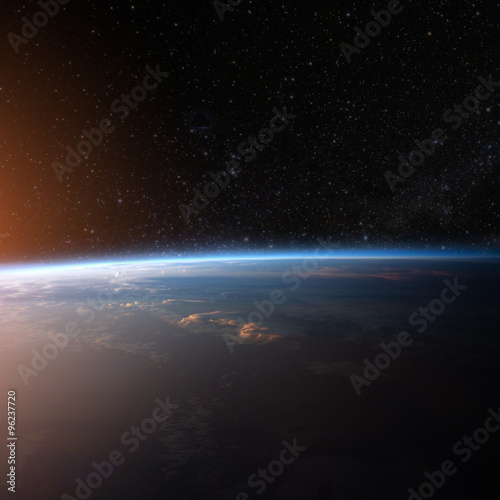 Keuken foto achterwand Nasa Planet earth from the space. Some elements of this image furnish