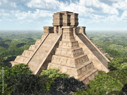 Maya Tempel #96248348