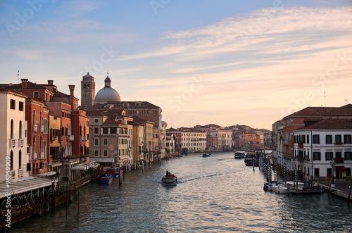 Fototapety, obrazy: Venice Canal Grande in the morning