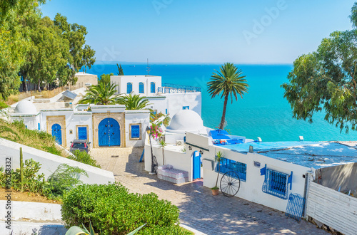 Photo sur Toile Tunisie The lovely place