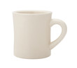 Classic White Diner Coffee Cup