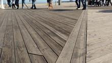 Boardwalk Abstract