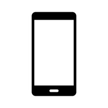 Smartphone / Smart Phone Flat Icon For Websites