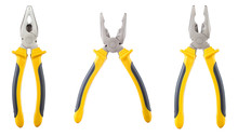 Three Yellow And  Black Plier...