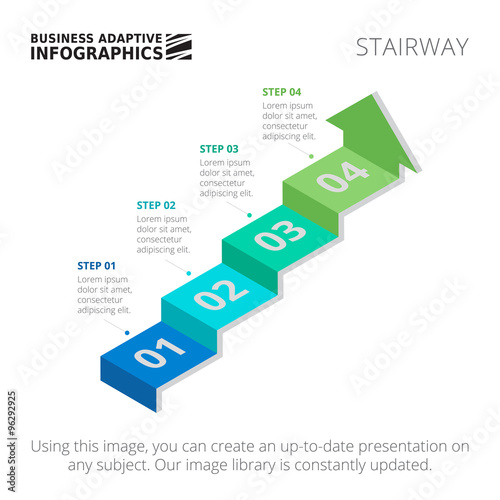 Fotografía  Process chart Stairway 1