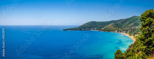 Photo sur Aluminium Cote Beautiful Cilentan Coast, Salerno, Campania, Italy