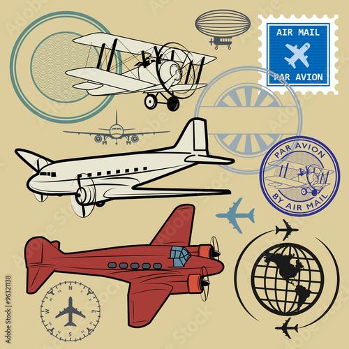 zestaw-symboli-poczty-lotniczej-i-samolotu