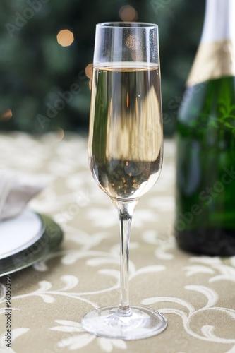 Photo  champagne flute