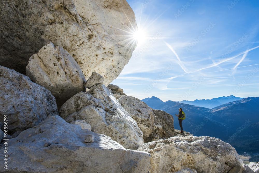 Fototapety, obrazy: trekking feeling