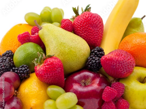 Poster Vruchten fruit mixture