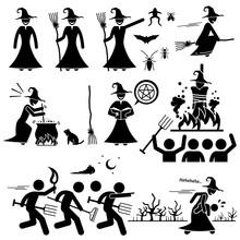 Evil Witch Hunt Witchcraft Bla...
