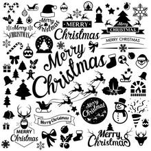 Merry Christmas  Icons Set