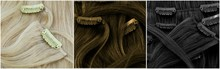 Blonde, Brown And Black Clip-i...
