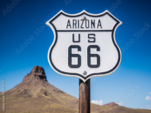 Keuken foto achterwand Route 66 Route 66 Sign