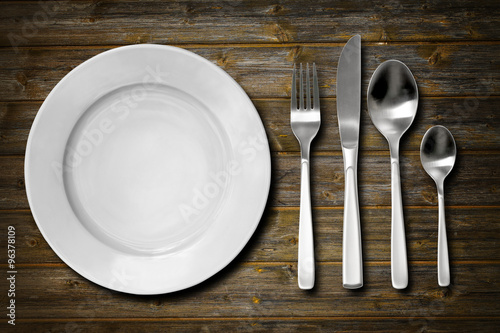 Cutlery set Tapéta, Fotótapéta