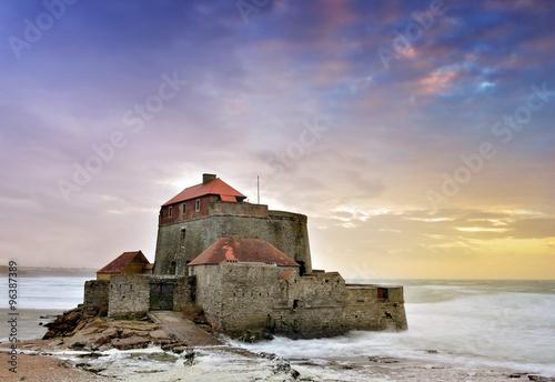 Photo fort Vauban au coucher de soleil