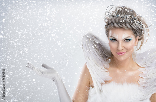 Fotografie, Tablou  winter fairy