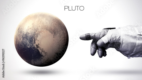 фотография Pluto - High resolution best quality solar system planet