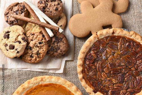 Poster Dessert Holiday Desserts