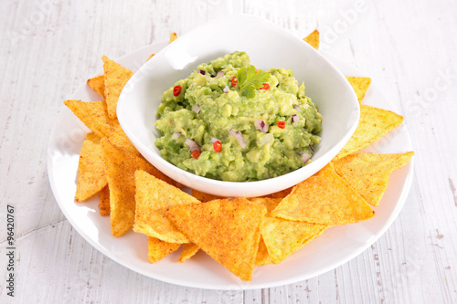 Recess Fitting Appetizer guacamole and nacho
