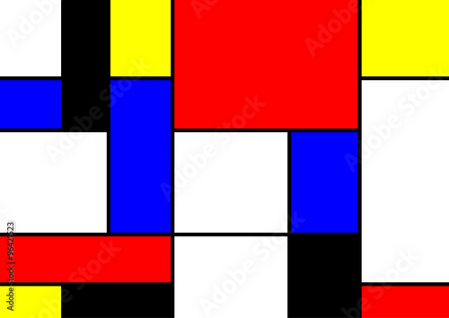 Photo  abstract geometric colorful vector pattern