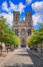 Notre Dame De Reims Cathedral,...