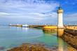 Leinwandbild Motiv Lighthouse in Quiberon, Brittany, France