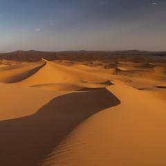 Fototapeta na wymiar Erg Chebbi in Morocco