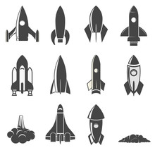 Set Of The Vector Rockets.