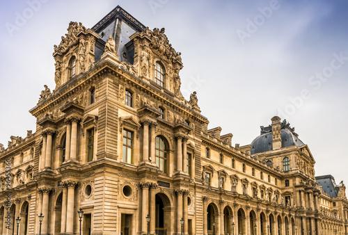 Le Louvre, Paris Fototapet