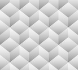 3d cubes seamless, repeatable pattern. Vector art. - 96459992