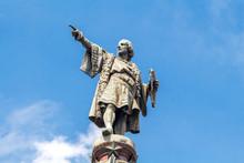 Barcelona. Monument To Christo...