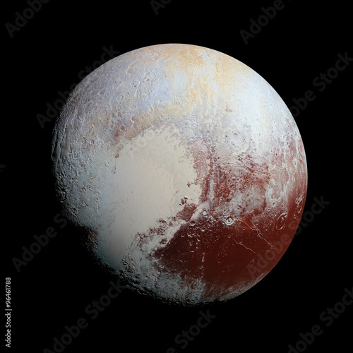 Платно Pluto Planet Solar System space isolated