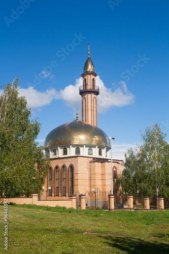 Fotografie, Obraz  The mosque in Nizhnekamsk town (Tatarstan, Russia)