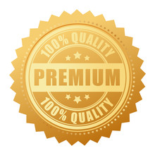 Premium Quality Gold Seal