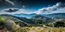 View Of Malibu Canyon And Malibu Creek State Park From Mulholland Highway