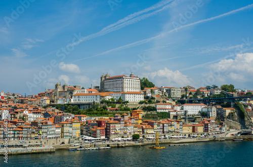 Staande foto Xian View of Porto city on summer day